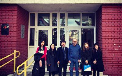 Посета делегације Министарства просвете Републике Кореје Филолошкој гимназији