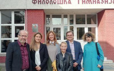 Представници КПЕДУ из Финске гости Филолошке гимназије