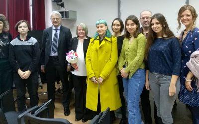 Фински амбасадор, Њ.Е. Кимо Лахдевирта(Kimmo Lähdevirta) у посети Филолошкој гимназији