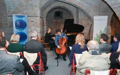 Ученици финског језика на концерту класичне музике у Конаку кнегиње Љубице