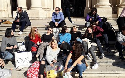 Ученици Филолошке гимназије у посети ученицима са Сицилије