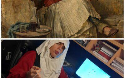 Албанац који пуши