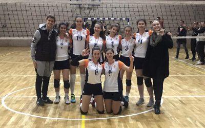 Одбојкашице Филолошке гимназије – вицешампиони Општинског такмичења