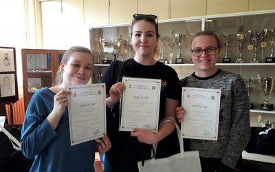 Одличан успех ученика Филолошке гимназије на Републичком такмичењу из страних језика