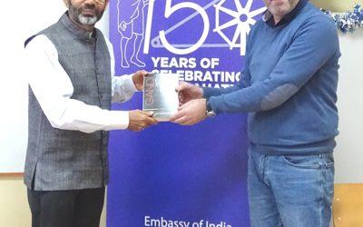 Посета амбасадора Индије