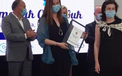 Награда за професорку књижевности др Мирјану Стакић Савковић за пројекат Живот по осамнаестици