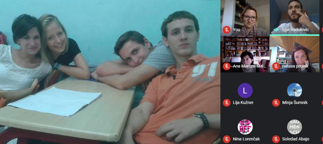 Еразмус+ активности – одржано предавање о друштвеној мрежи TikTok